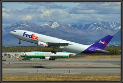 N662FE FedEx - Federal Express (Bob Garrard) Tags: airbus express fedex anc federal a300 panc n662fe
