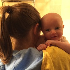 "Mommy and Dani Getting Ready to Take a Bath • <a style=""font-size:0.8em;"" href=""http://www.flickr.com/photos/109120354@N07/32268504114/"" target=""_blank"">View on Flickr</a>"