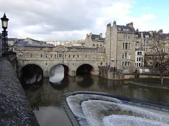 Pulteney Bridge & Weir, River Avon, Bath 24 February 2017 (Cold War Warrior) Tags: river weir bridge riveravon bath