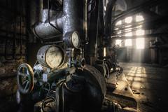 Industry morning (Michal Seidl) Tags: abandoned boiler room heating plant kotelna opuštěná industry fabrika továrna urbex hdr czech cz