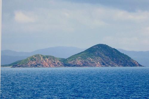 Sailing Up East Coast Of Australia Off Queensland