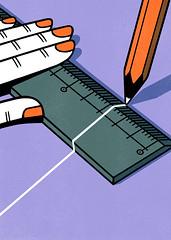 Ruler (Studio-Takeuma) Tags: illustration illustrator studiotakeuma idea humor blackjoke nonsense conceptual graphic art イラスト イラストレーション