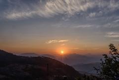 Sunrise at Chaukori (@nikondxfx (instagram)) Tags: india kumaon nikon travel uttarakhand destination family hillstation holiday incredible photography chaukori pithoragarh tripod kmvn sunrise layer mountains ranges