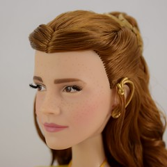 2017 Belle Limited Edition 17'' Doll - Live Action Film - US Disney Store Purchase - Deboxed - Standing - Closeup Right Front View #3 (drj1828) Tags: us disneystore purchase liveactionfilm limitededition belle ballgown yellow le5500 2017 deboxed review