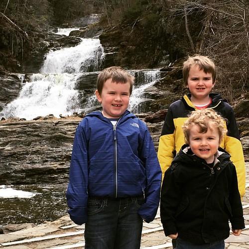Waterfall explorers