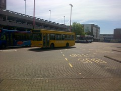 LCB Travel Dennis Dart SLF/Mini Pointer Dart W928PTS Harlow Bus Station 06/06/14 (TheStanstedTrainspotter) Tags: travel bus buses station volvo solo harlow network routemaster greenline roadrunner lcb londontransport olympian arriva optare tgm volvoolympian londoncountry dennisdart b7rle optaresolo firstessex smcoaches regalbusways londoncounty trustybus galleontravel townlink volvob7tlplaxtonpresident