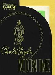 Modern Times (1936/United Artists) premiere program (KlaatuCarpenter) Tags: charliechaplin graumanschinesetheatre paulettegoddard chesterconklin premiereprogram