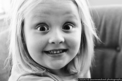 Doodlebug! (Lauren Mikael Photography) Tags: portrait blackandwhite monochrome canon rebel child 28135mm t1i laurenmikael