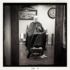 Lloyd's Barbershop. (top pocket man) Tags: haircut fantastic santamonica lloydsbarbershop