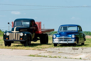 Historic Route 66 - 'Cars on The Route' at Galena, Kansas