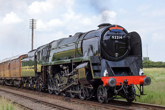 BR Class 9F 2-10-0 No.92214 (norman-bates) Tags: br swindon steamengine 1959 2100 steamlocomotive greatcentralrailway gcr 9f 92214 deepbronzegreen