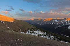 Gore Range Overlook (Matt Thalman - Valley Man Photography) Tags: summer mountain snow landscape evening nationalpark colorado unitedstates places longspeak 14er rockymountainnationalpark