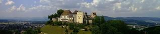 Schloss Lenzburg, Lenzburg Castle. Kanton Aargau Schweiz. Switzerland   Panorama
