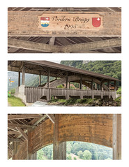 Vordere Brügg.jpg (qitsuk) Tags: switzerland coveredbridge muotathal woodenbrigde muota vorderebrücke vorderebrügg