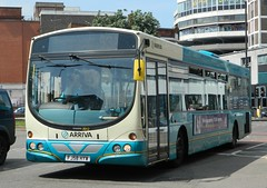 Arriva Midlands (3912) Volvo Wright Eclipse - FJ58 HYW (J.J.Pay 8581) Tags: bus leicester midlands arriva 53a fj58hyw