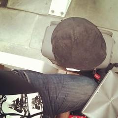 Ready to travel... (JF Sebastian) Tags: selfportrait waiting zaragoza cap squareformat rise suitcase tablet jorgeferrergarcía nexus4 morethan100visits morethan250visits instagramapp uploaded:by=instagram foursquare:venue=4b59f86ef964a520bca428e3 filterrise