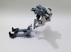 Excalibur Flight Pack (funnystuffs) Tags: metal robot lego flight full pack panic driver custom mecha excalibur mech lambda arbalest