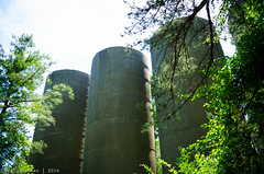 Toms River Silo Ruins - XXXIII (Surreal-Journey) Tags: abandoned newjersey ruins unitedstates silos oceancounty weirdnj tomsriver abandonedsilos abandonednewjersey nikon18105mmf3556vr nikond7000 tomsriversilos