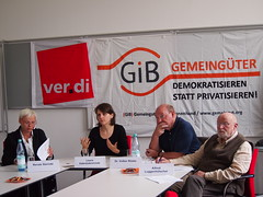 Pressekonferenz ÖPP-Verschuldung mit ver.di, 19.06.2014