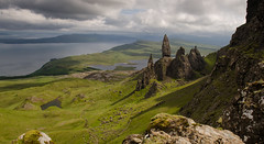 The Storr (Joe Dunckley) Tags: uk sea mountains skye landscape islands scotland highlands isleofskye oldmanofstorr storr thestorr