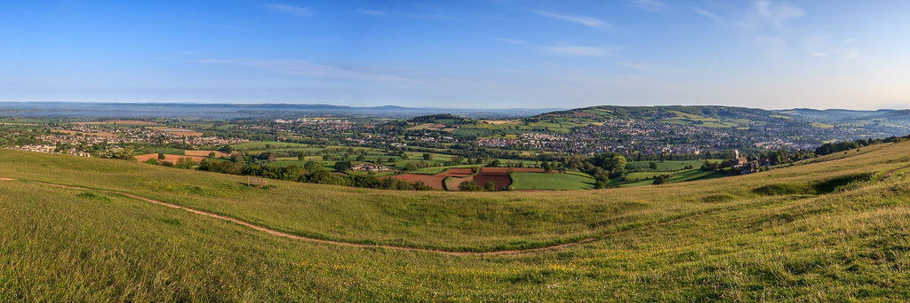 Stroud from Selsley Common