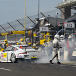 No_ 912 Porsche North America pit stop