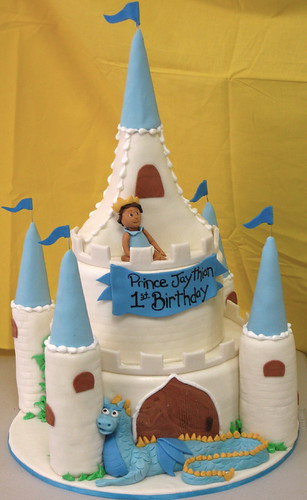 Little Prince Castle Cake