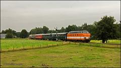 2 Augustus 2014 - Locon 9802 - Beekbergen (EnricoSchreurs) Tags: train canon eos july zug juli trein acts 2014 6325 nmbs stoomtrein sonderzug beekbergen vsm 9802 600d 6702 locon maatschappij veluwsche railexperts excursietrein
