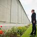 David Cameron at the Battle of Loos Memorial
