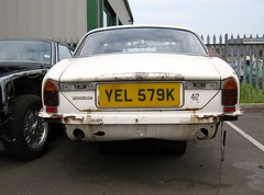 1973 DAIMLER SOVEREIGN 4235cc YEL579K (Midlands Vehicle Photographer.) Tags: 1973 daimler sovereign 4235cc yel579k