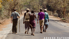 Jungle trek (asheshr) Tags: people trek jungletrek tribals