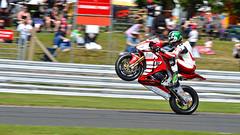 Hicky (Mortarman101) Tags: honda wheelie bsb fireblade hicky peterhickman britishsuperbikechampionship rafreservesteam