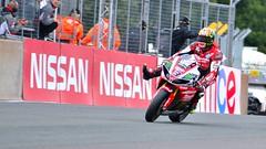 For The Win (Mortarman101) Tags: race victory motorbike motorcycle yamaha bsb oultonpark britishsuperbikechampionship joshbrookes