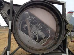 SR-71 Blackbird Astro-Inertial Navigation System (johnei) Tags: lockheed blackbird sr71 pacificcoastairmuseum