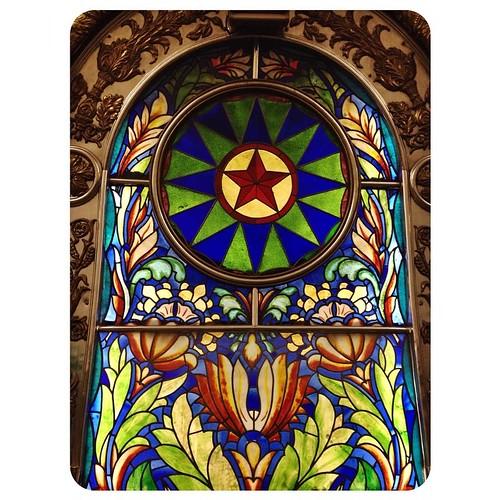 Мозаика на Новослободской | Tube mosaic #Mosaik #tube #mosmetro #moscowmetro #moscowundeground #Ubahn #мозаика #art #architecture #star #Stern