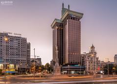 2014-08-16 Madrid Noche  07 (-COULD 2.0) Tags: madrid night canon hotel noche spain centro palace cibeles torres granva coln 650d sigma1750