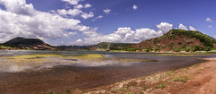 panorama du lac de salagou
