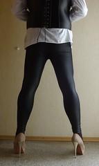 2 (Mandy Buffalo) Tags: high buffalo highheels plateau heels leggings
