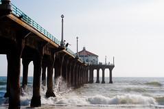 Manhattan_Beach_CA_0012 (josh-rodriguez) Tags: ocean california beach pier pacific manhattanbeach skimboarding skimboarder