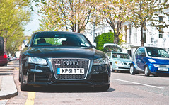 London Cars (Jurriaan Vogel) Tags: auto uk england black london cars car germany deutschland photography nikon automobile britain united great kingdom automotive german gb 1750 17 mm 50 audi tamron luxury coupe coup vogel deutsch quattro 2014 jurriaan rs5 worldcars d7000