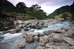 Upper Derwent in Borrowdale (717Images) Tags: longexposure mountains water river stream derwent lakedistrict boulders cumbria flowing borrowdale fastflowing