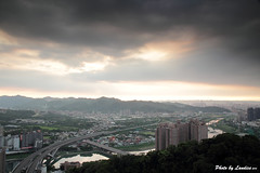 IMG_8890 () Tags: light sunset sun canon taiwan      nd64 60d    canon60d  xinbei
