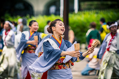 2014_08_24_Super_Yosakoi_Select_B016_HD (Nigal Raymond) Tags: japan canon harajuku   matsuri meiji      tky jing omotesand 100tokyo cooljapan nigalraymond wwwnigalraymondcom 5d3  genkimatsuri