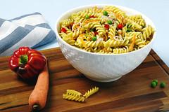 Insalata di pasta - DSC_9193_3x2 (SaleCaramello) Tags: recipe pepper italian pasta peas onion insalata ricetta piselli peperoni fusilli insalatadipasta insalatafredda
