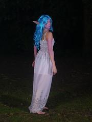 Petit test Dress Huntress - World of Warcraft - 2014-08-07- P1900762 (styeb) Tags: shooting shoot hostens 2014 aout 07 lac water landes test dress huntress world warcraft cosplay