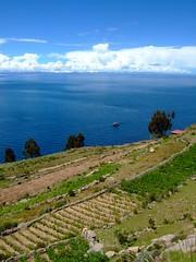 DSCF7359 (JohnSeb) Tags: lake peru titicaca lago island see meer lac per taquile isla  johnseb jezioro s  southamerica2012