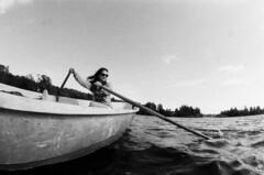 ežeras Vyborgo (KO Shots) Tags: lake film canon studio boat tata 7 delta seven 28 3200 16mm zenitar ilford vyborg kostya костя jonaitis йонайтис