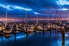Pier 39 Marina {Explored 1-Sept-2014 #34} (Matthew Kowalski) Tags: sanfrancisco california marina canon reflections boats morninglight dock cities embarcadero bayarea pier39