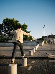 Jump! [Explored] (jkpark78) Tags: street travel paris france canon de place candid concorde eurotrip 2010 s90