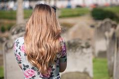 Emily in St. Mary's Churchyard (jayteacat) Tags: st emily whitby marys churchyard